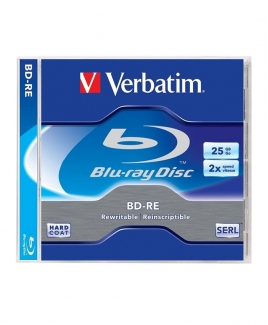 Verbatim Blu-Ray (BD-RE) 25GB 2x [Jewel]